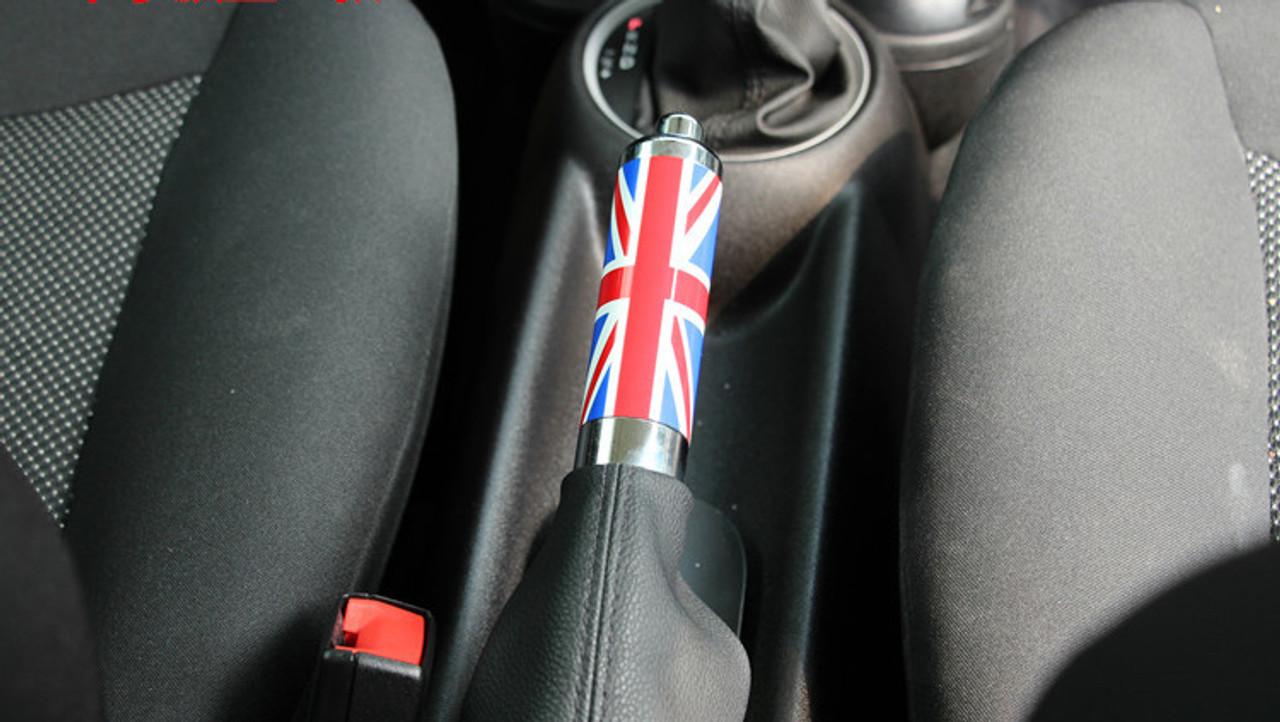 sainchargny.com For Mini Cooper Black Union Jack Handle Hand Brake ...