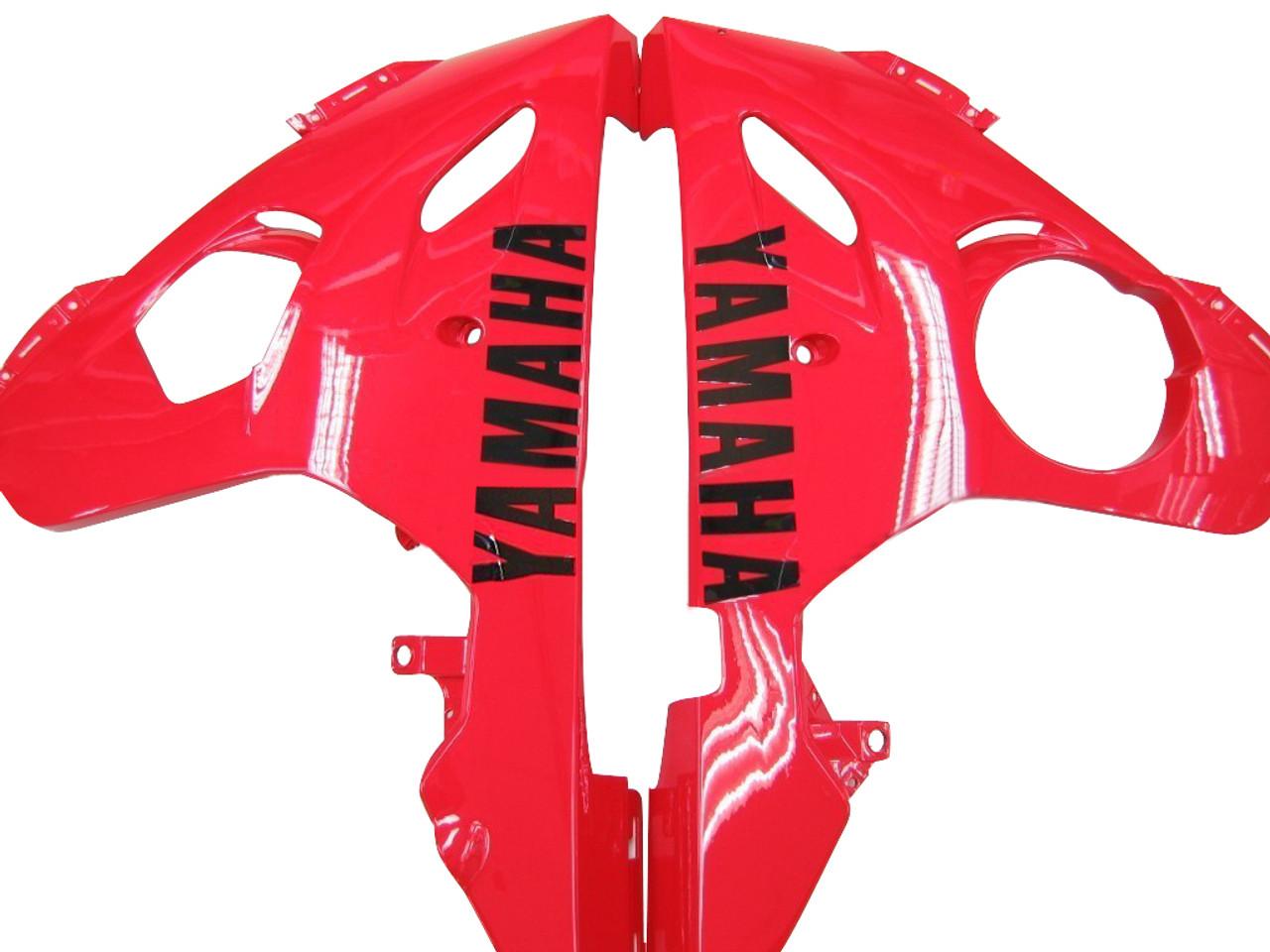 Fairings Yamaha YZF-R6 White & Red R6 Racing (2003-2005)