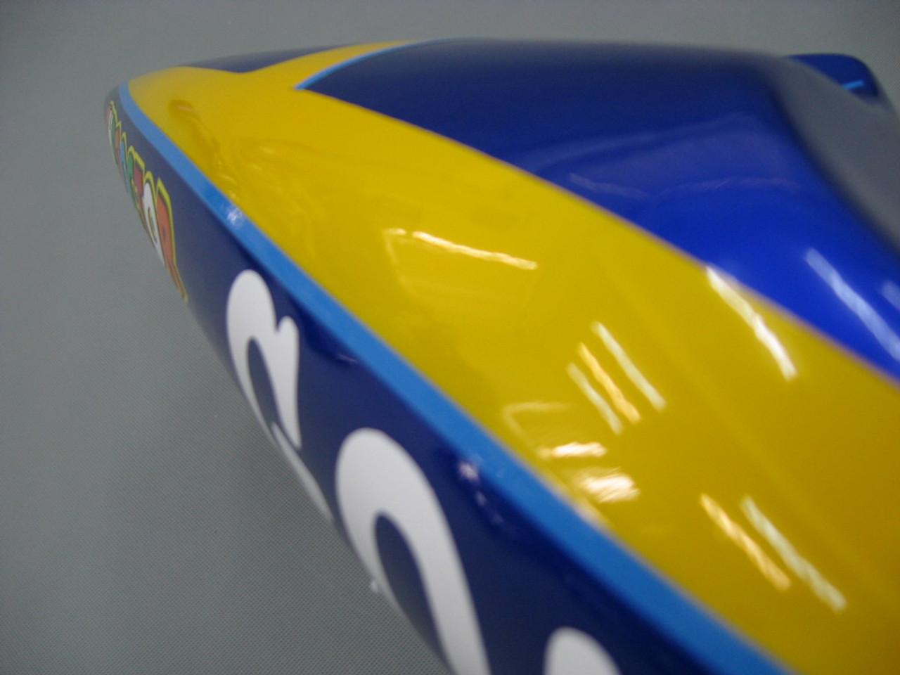 Fairings Yamaha YZF-R1 Blue No.46 GO!!!!!!  R1 Racing (1998-1999)