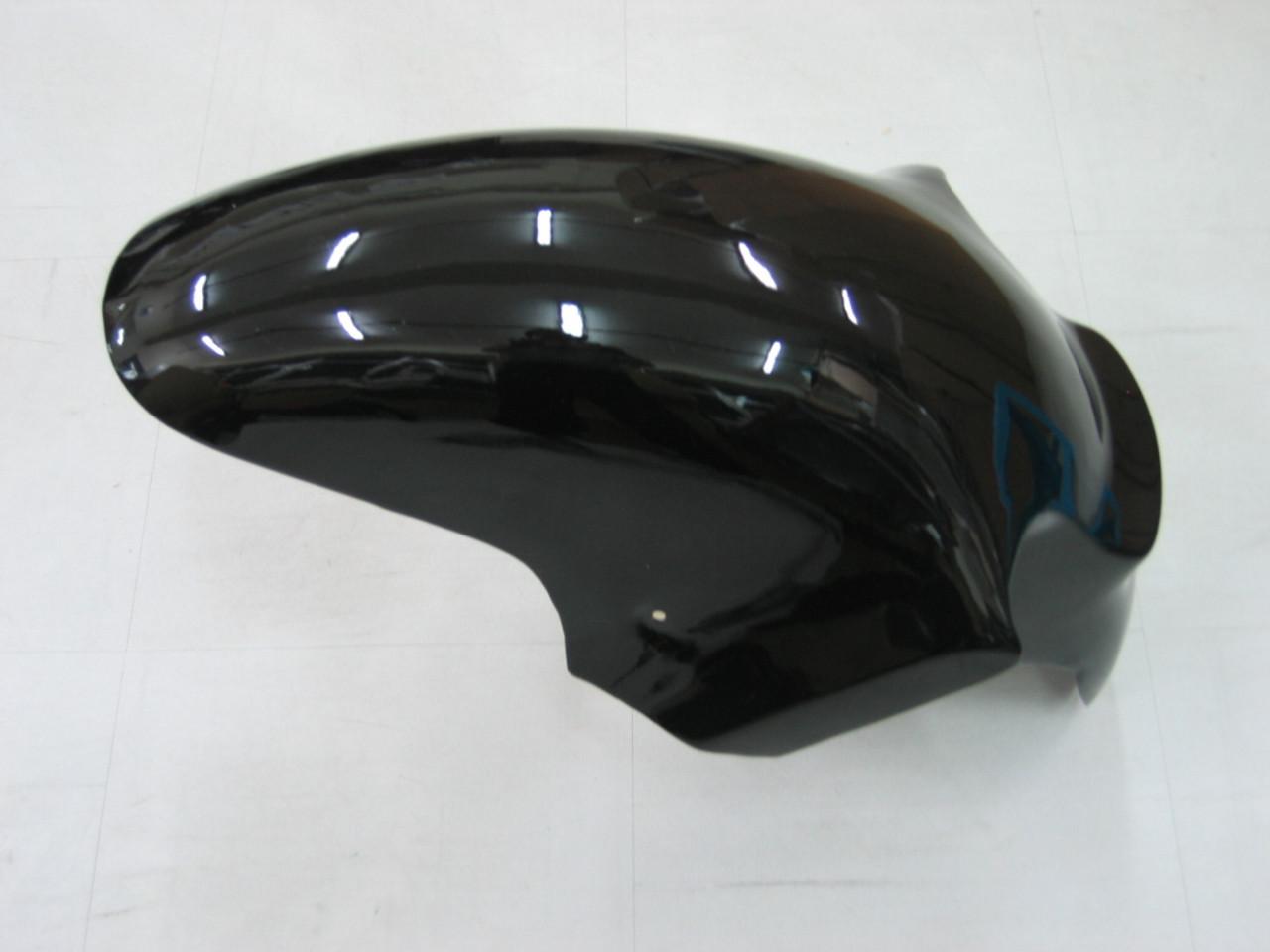 Fairings Kawasaki ZX12R Ninja Black & Gold ZX12R Racing (2002-2004)