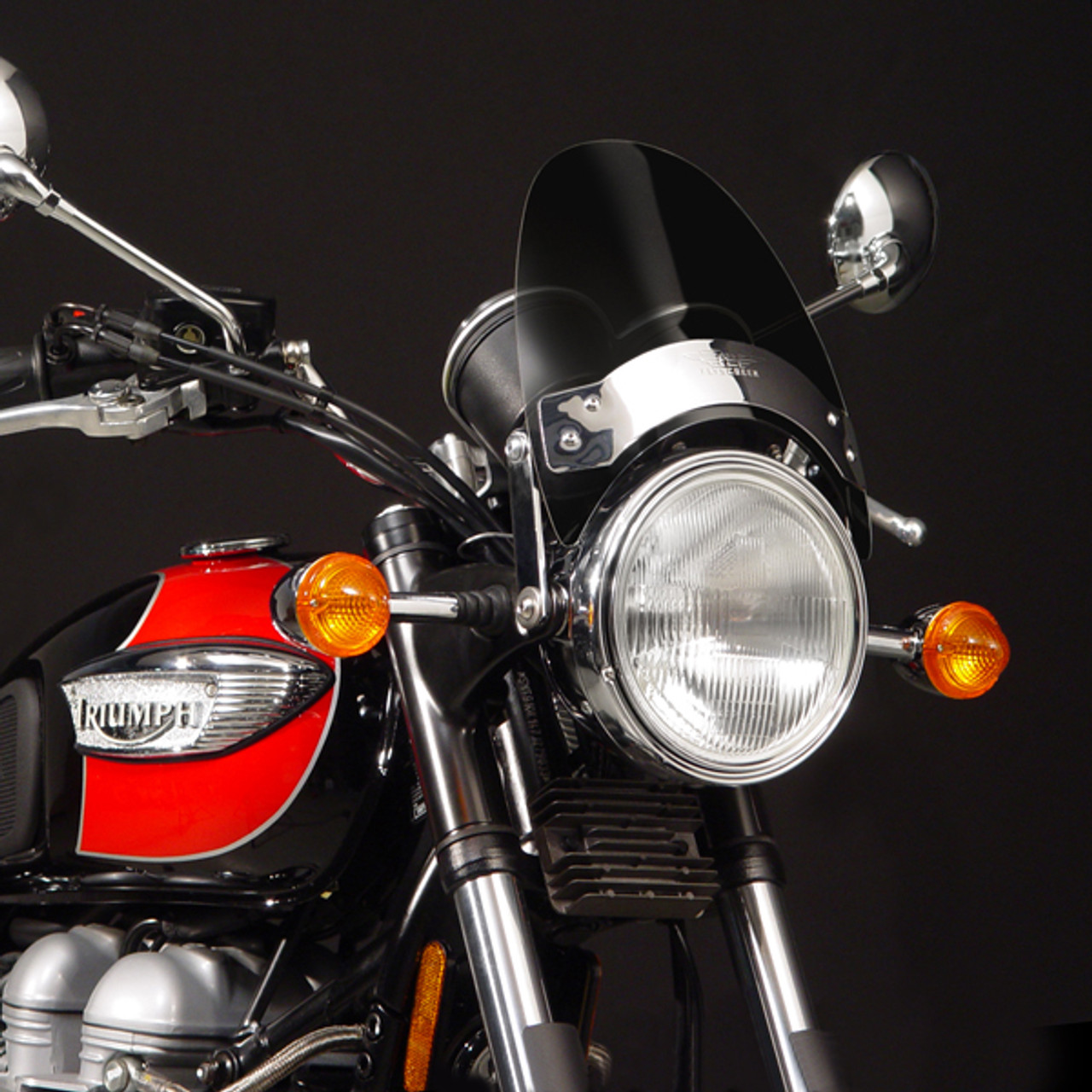 Fly Screen Windscreen Windshield Triumph Adventurer Legend TT, Smoke