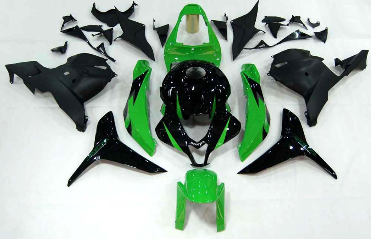 Fairings Honda CBR 600 RR Green & Black CBR Racing (2009-2012)