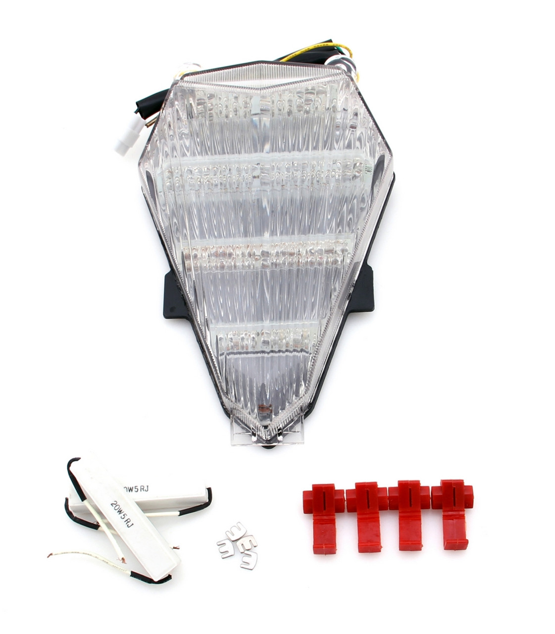 TailLight with integrated Turn Signals for Yamaha YZF R6  (2006-2007)  Clear