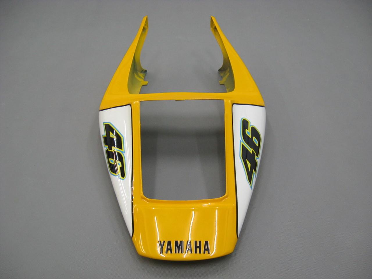Fairings Yamaha YZF-R1 Yellow Blue No.46 Camel Racing (1998-1999)