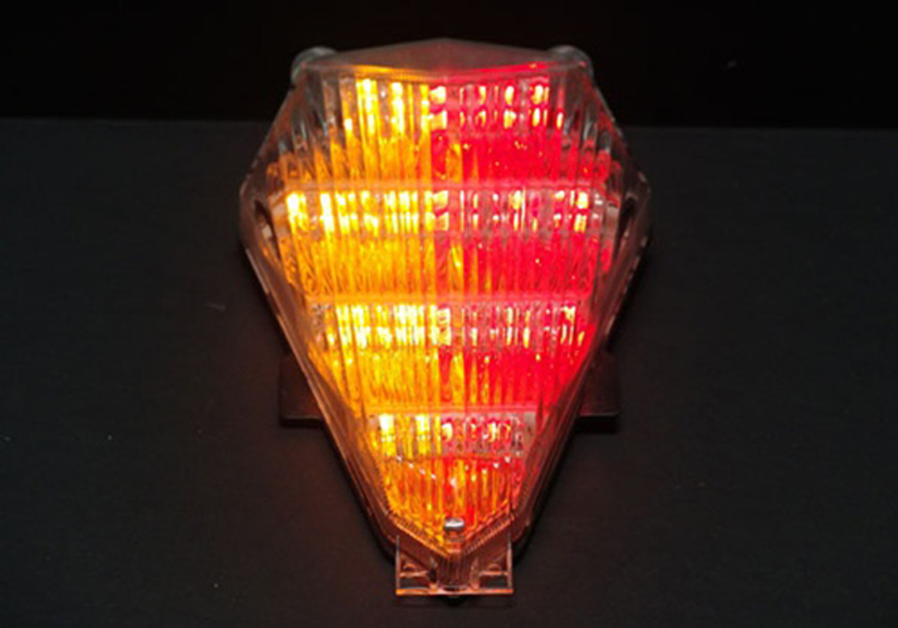 TailLight with integrated Turn Signals for Yamaha YZF R6  (2006-2007) Smoke