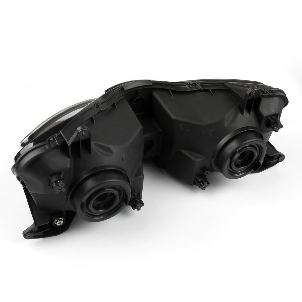 Headlight Assembly Headlamp Kawasaki ZX-9R (00-03) ZX-6R (00-02) ZZR600 (00-08) Clear