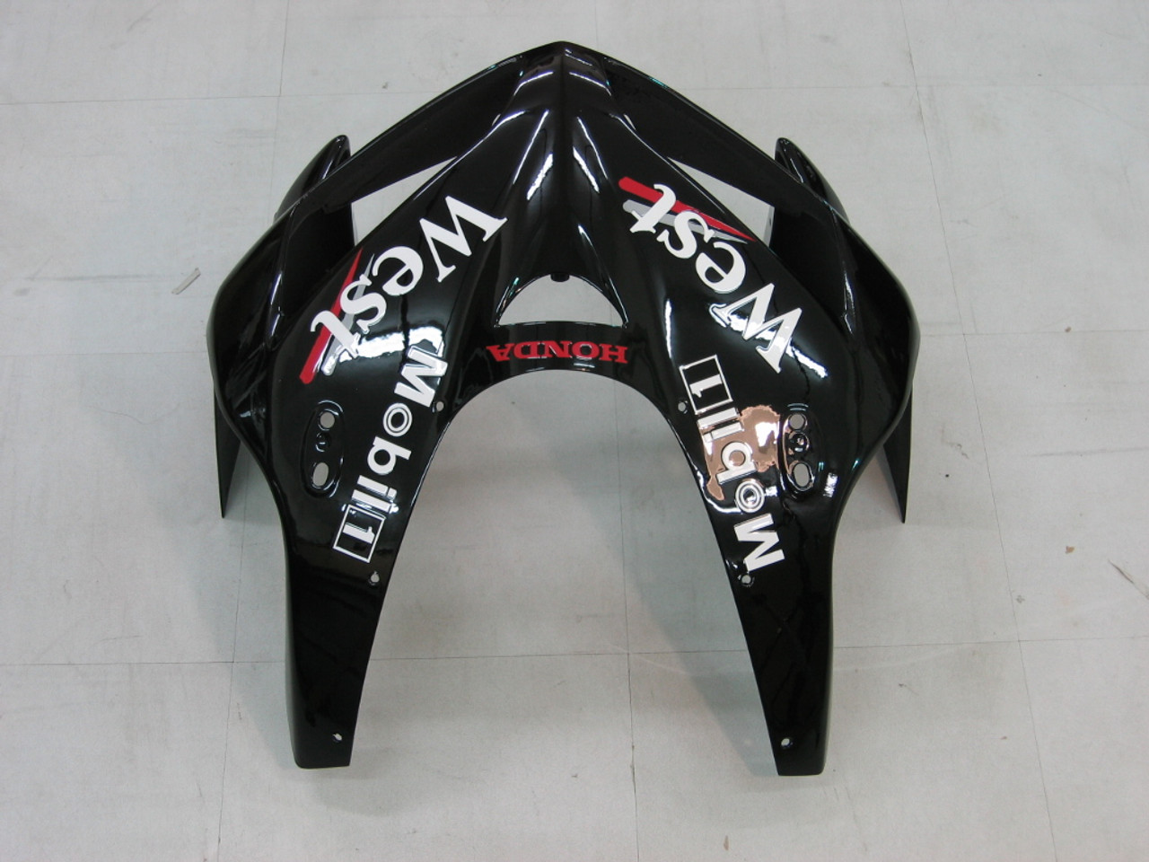Fairings Honda CBR 600 RR Black West Racing (2005-2006)