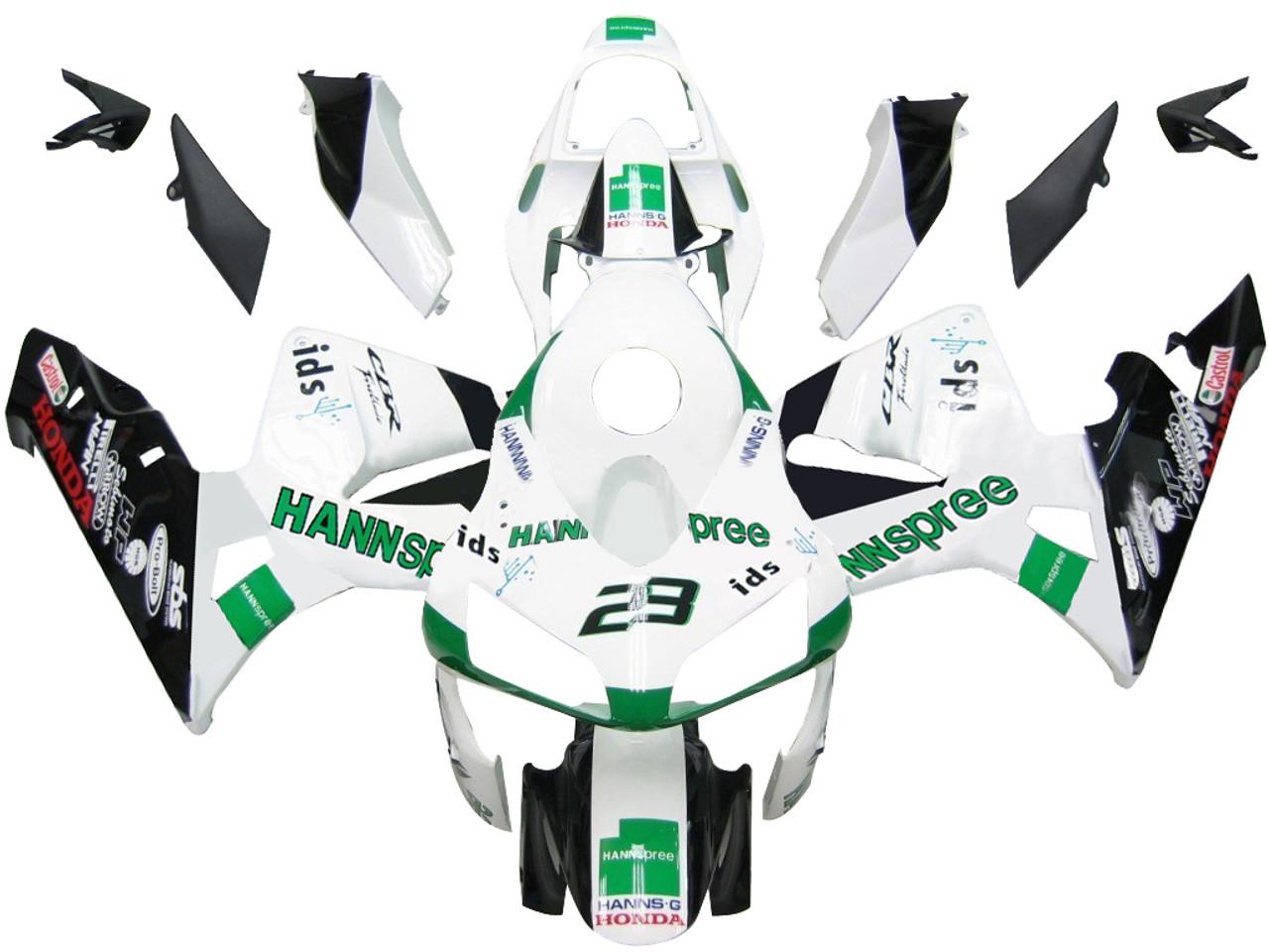 Fairings Honda CBR 600 RR No.23 Hannspree Racing (2003-2004)
