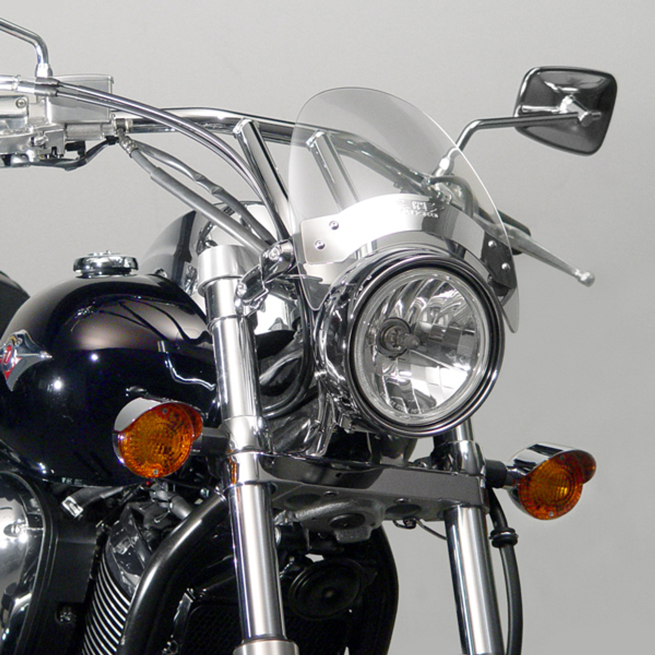 Fly Screen Windscreen Windshield Honda VT VTX VF CMX CB Shadow Spirit ACE Sabre Stateline Magna Rebel , Smoke