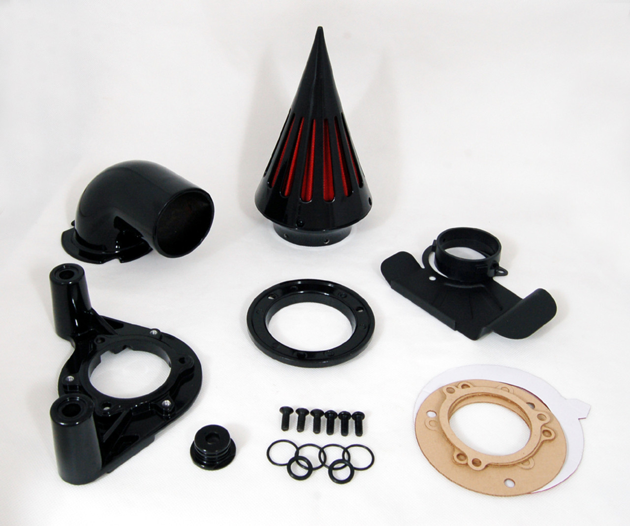Spike Air Cleaner Intake Filter Kit Harley Davidson Dyna and Touring (2008-2012)