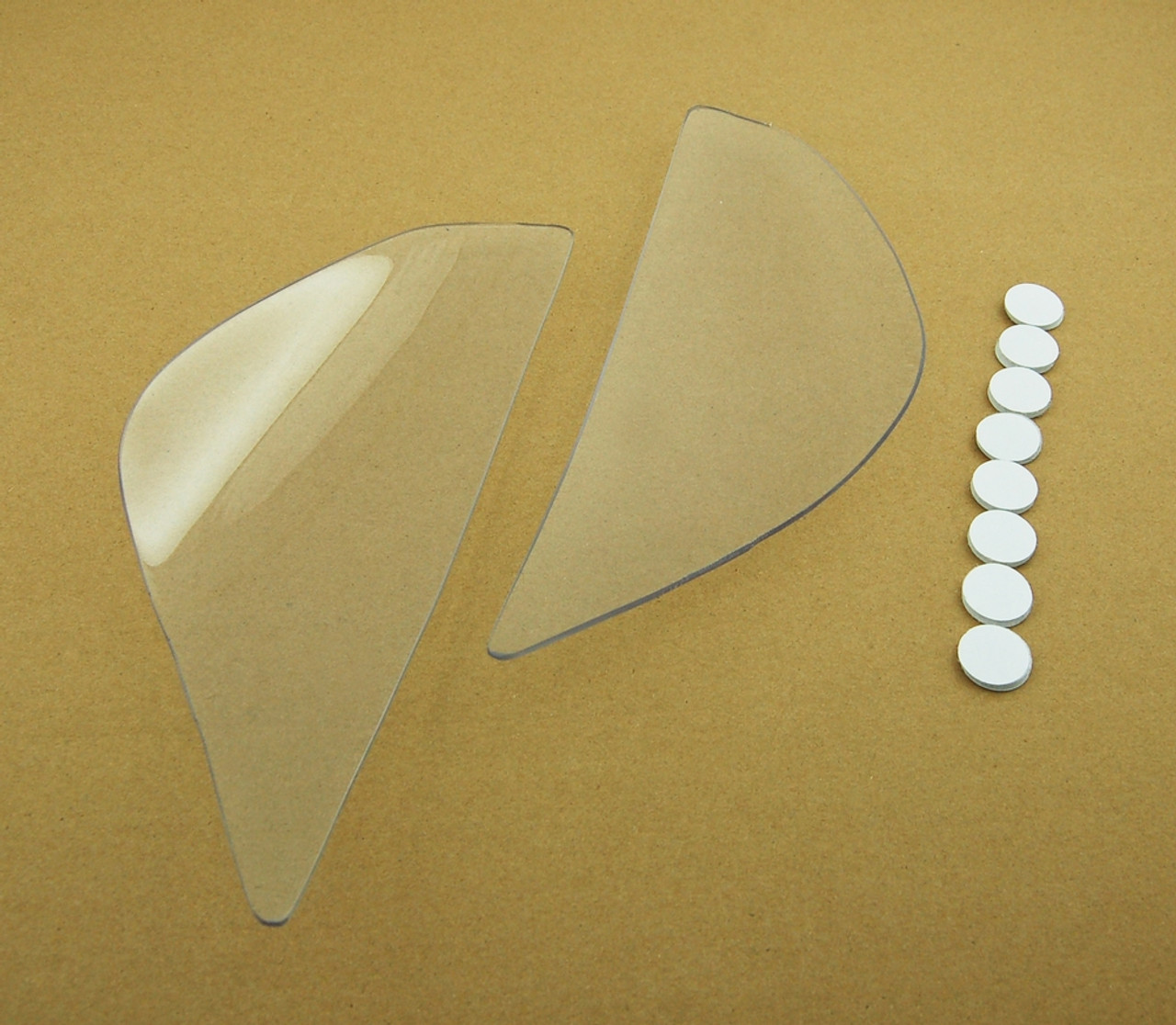 Headlight Lens Shield Cover for Kawasaki ZX 6R (2005-2006) Clear