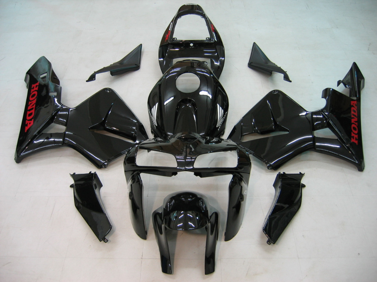 Fairings Honda CBR 600 RR Black Honda Racing (2005-2006)