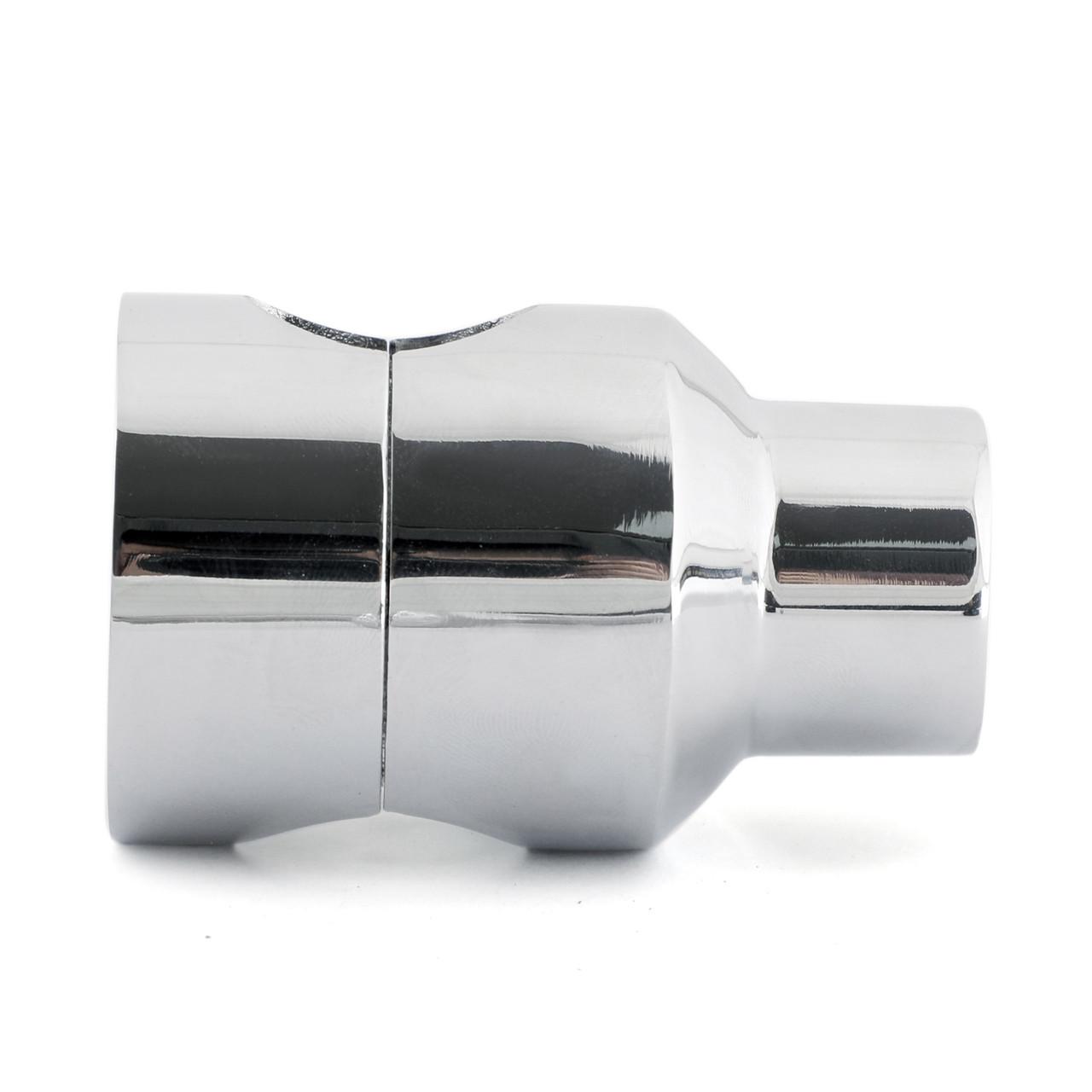"2"" Handlebar Risers Chrome Billet (Universal Fit to 1"" Handlebar) Round"