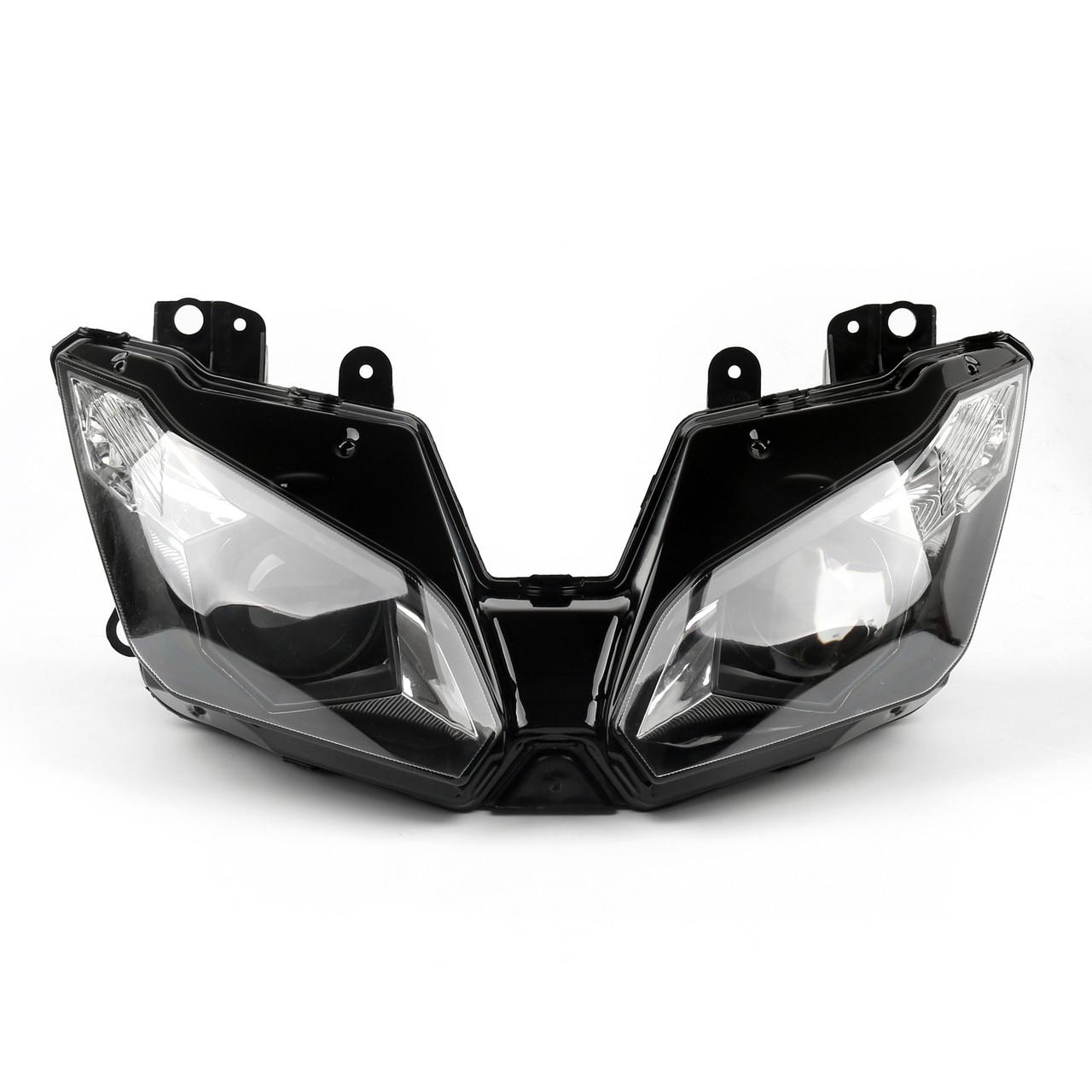 Headlight Assembly Headlamp Kawasaki ZX-6R (2013-2015) Clear