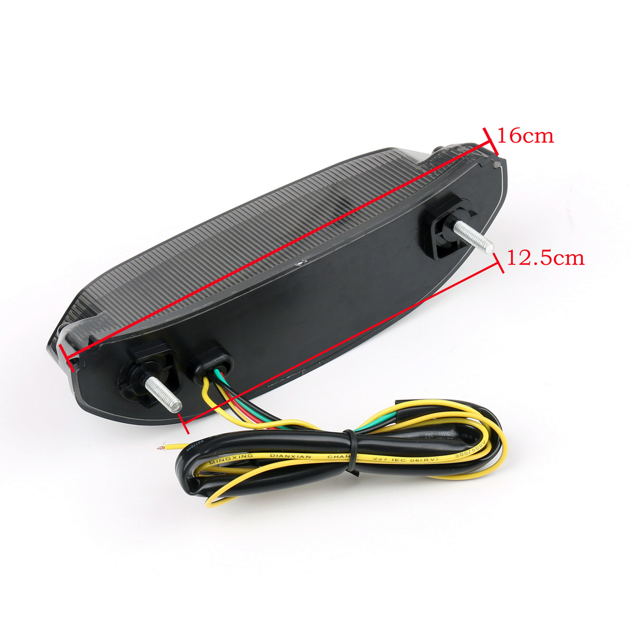 Tail Light LED Integrated Turn signals Honda CBR600RR (2013-2014), Smoke