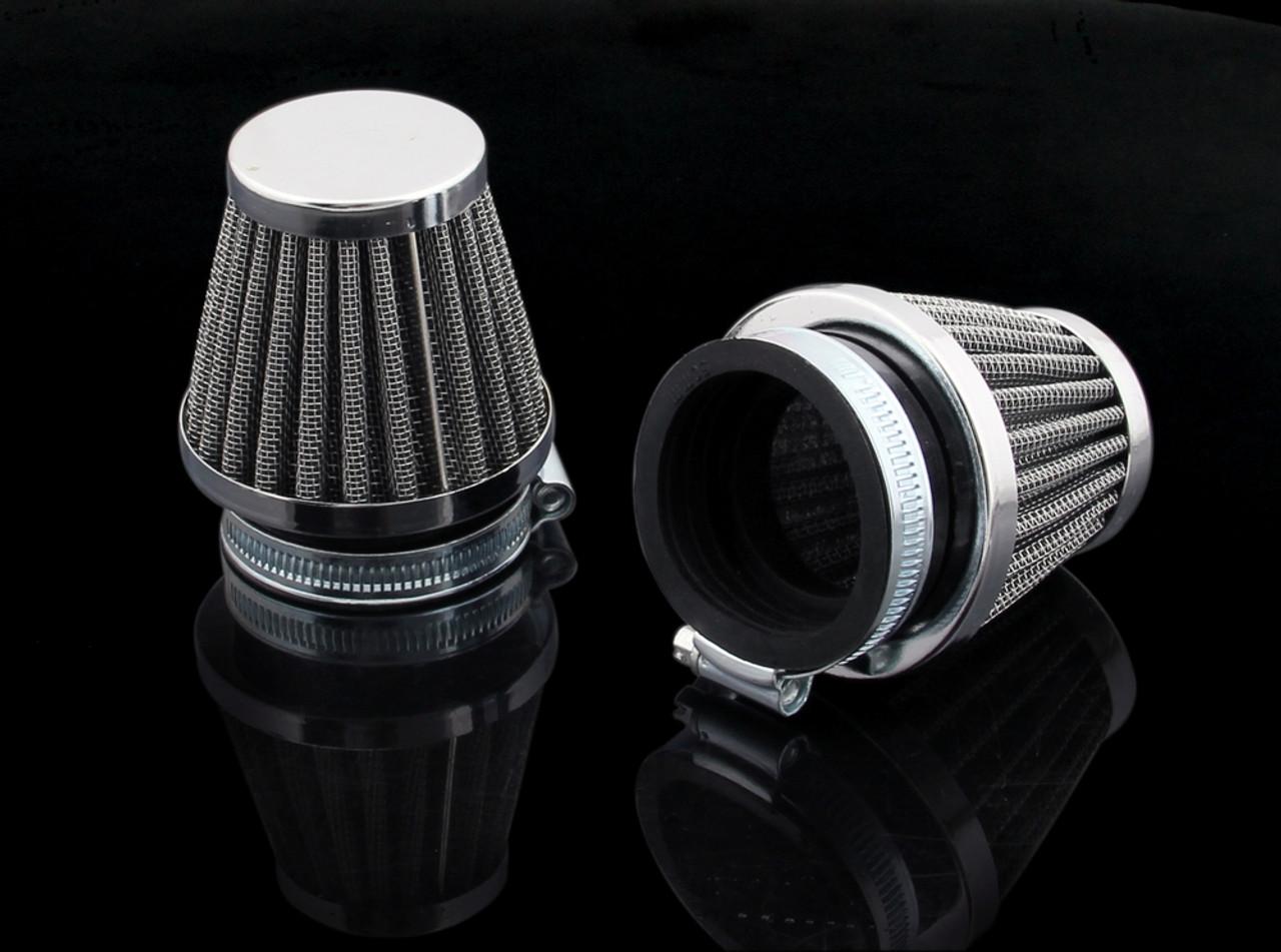 Air Filter 38-40mm 2PCS Honda CB750k Kawasaki KZ Suzuki GS550