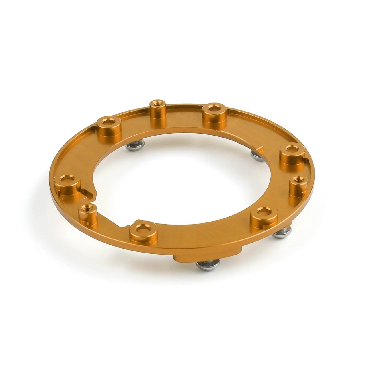 CNC Oil Seal Cap Mounting Brackets BMW R1200GS (2013-2014) Gold