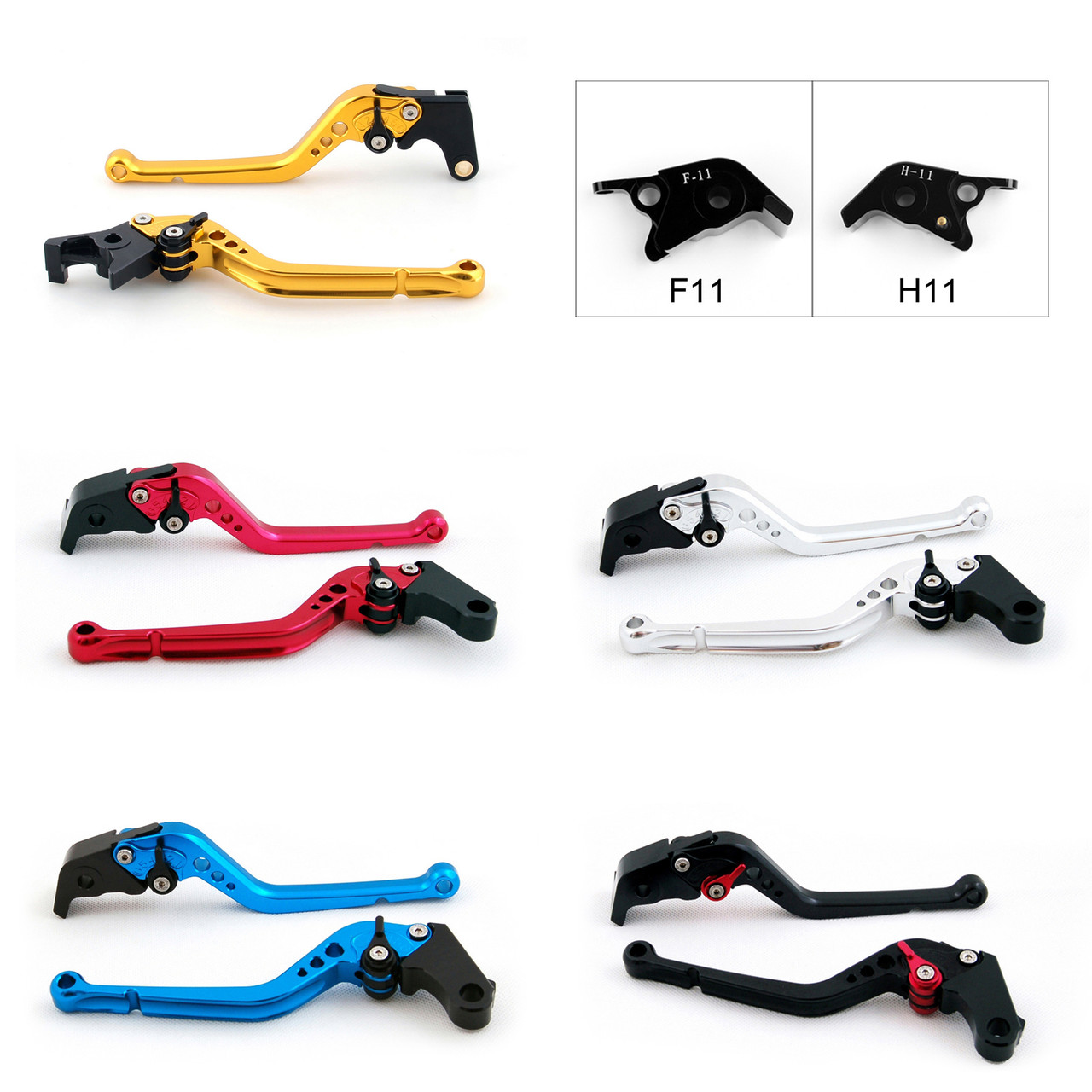 Standard Staff Length Adjustable Brake Clutch Levers Ducati 1198 /S/ R 2009-2011
