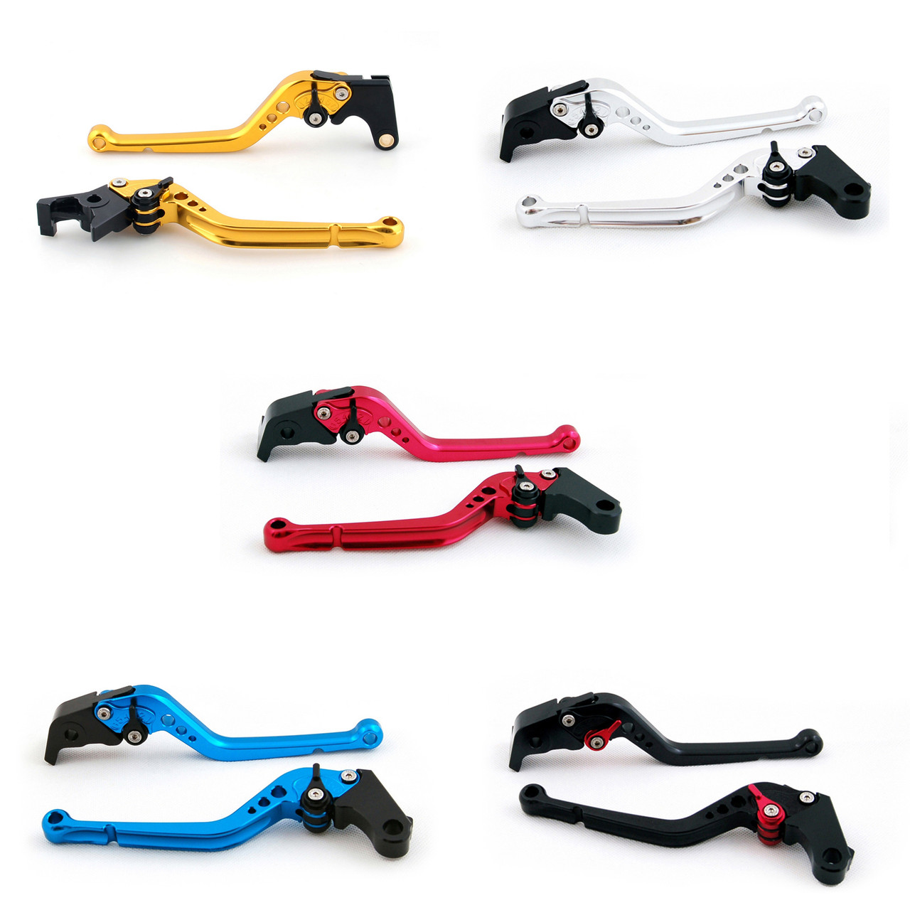 Standard Staff Length Adjustable Brake Clutch Levers Kawasaki NINJA 300R Z300 /ABS  2013-2017 (F-25/K-25)