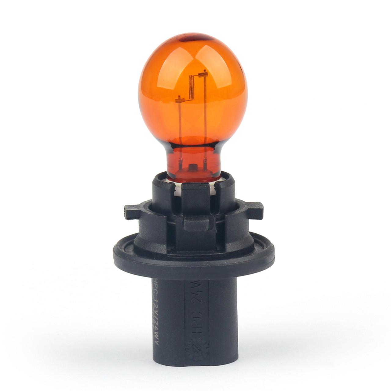 Philips 12272 NA Turn Signal Light Bulbs 24 Watt HPC24WY 12V/24W 2200K Orange