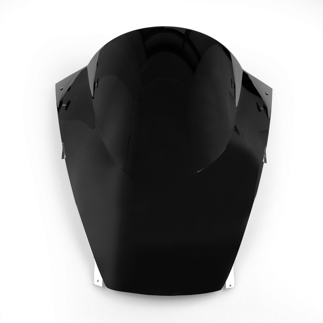 Windscreen Windshield Kawasaki Ninja ZX12 R (2002-2004), Double Bubble, Black