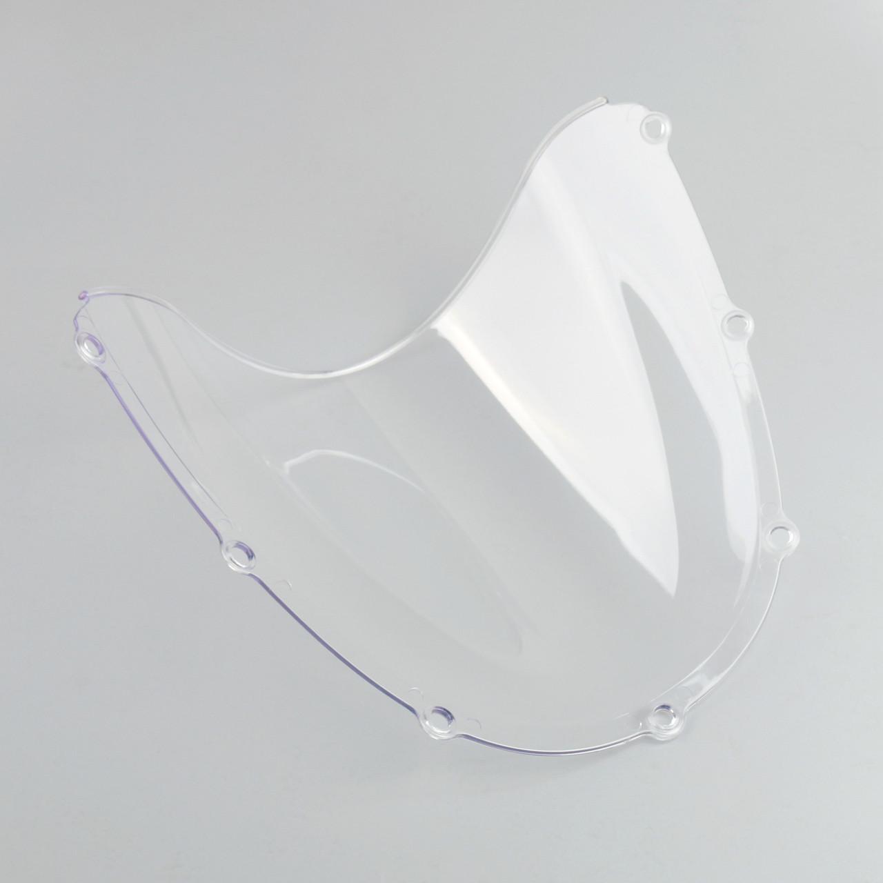 Windscreen Windshield Honda CBR 954 RR (2001-2003), Double Bubble, Clear