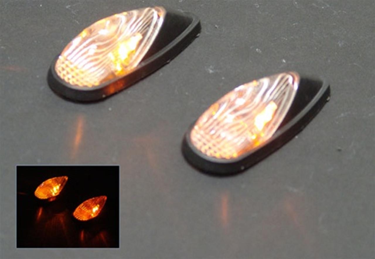 REAR Indicators LED Turn Signals Honda CBR600 (93-06), CBR 900 / 929 / 954 / 1000 RR, Smoke