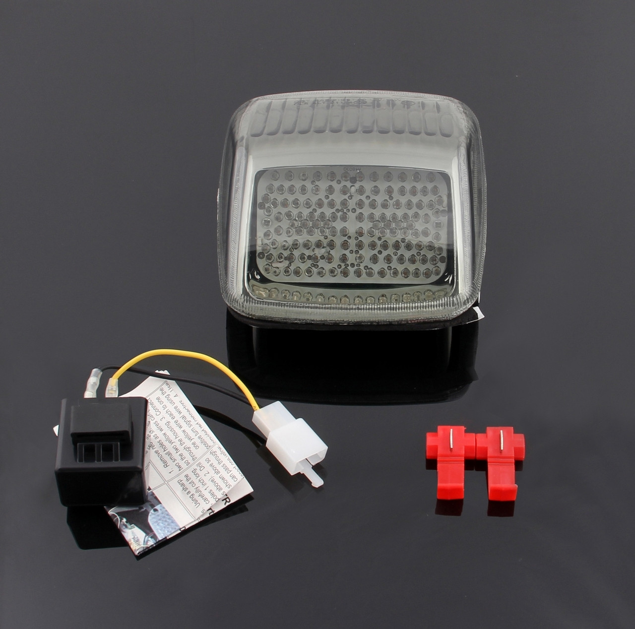 LED Taillight integrated Turn Signals Fit For Harley Deuce All Year Smoke
