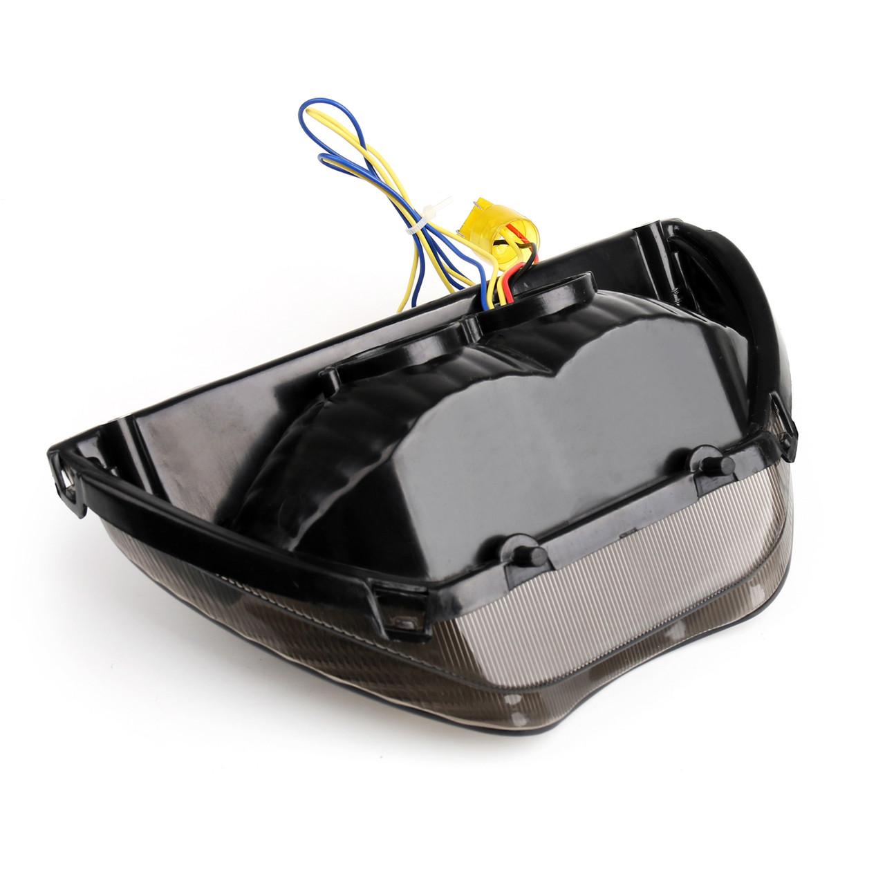 Integrated LED TailLight Turn Signals For Honda CBR 600 F4 F4i CBR 900 RR Smoke