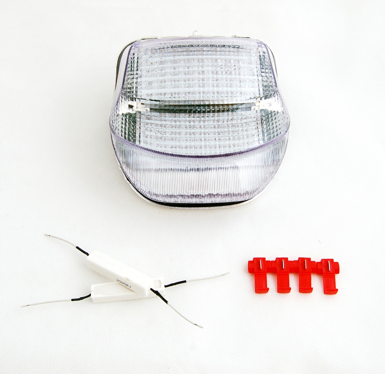 Tail Light with integrated Turn Signals for Honda CBR 1100 XX (1999-2006), Clear