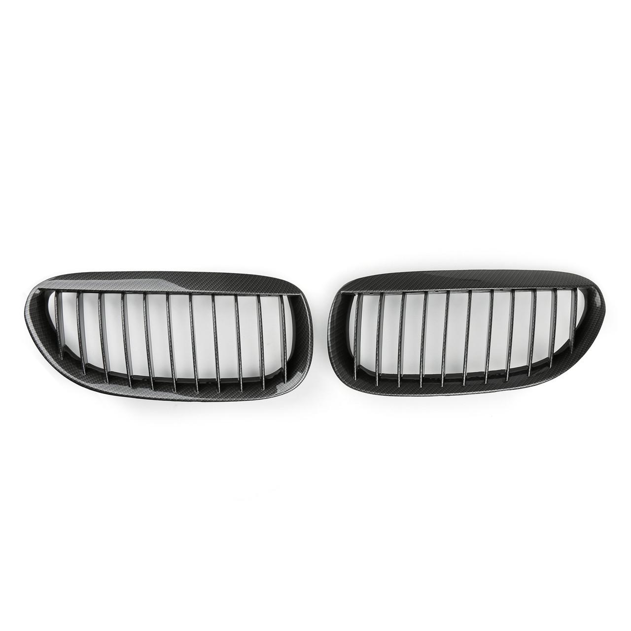 Kidney Grilles BMW E63 E64 M6 (2004-2010), Carbon