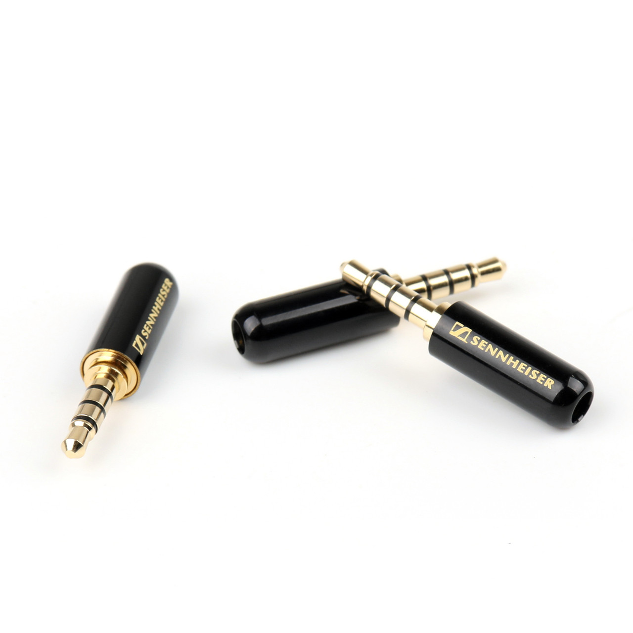 Mad Hornets 3PCS 3.5mm 4 Pole Male Repair Headphone Jack Plug Metal Audio Soldering