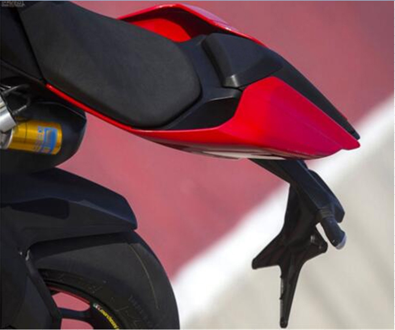 Rear Tail Solo Seat Cover Cowl Fairing for Ducati 1299 Panigale (2015-2016) Black