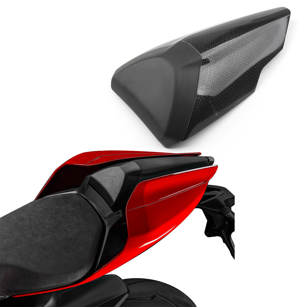 Rear Tail Solo Seat Cover Cowl Fairing for Ducati 1299 Panigale (2015-2018) Carbon