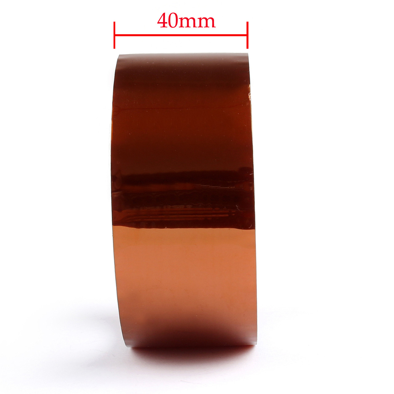 Mad Hornets 1PC 40mm Heat Tape 33m 100ft Kapton High Temperature Resistant For 3D Printer