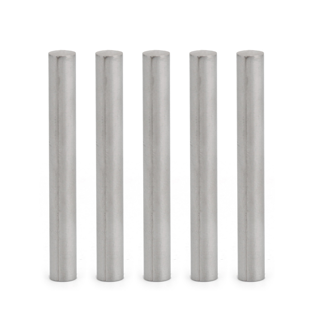 Mad Hornets 100x Stainless Steel Round Tube Case 6*50mm For PT100 DS18B20 Temperature Sensor
