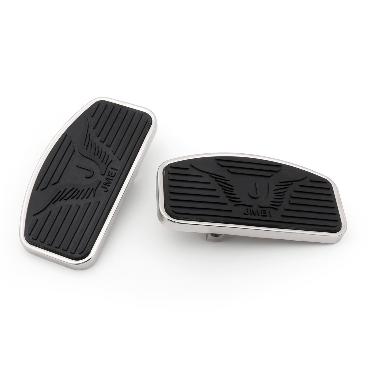 Front Floorboard Footboard For Honda VTX 1300 / VTX 1800, MAGNA VF250 VF750, Black
