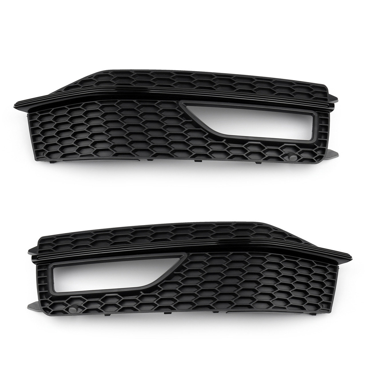 Bumper Fog Light Lamp Cover Grille Grill For AUDI A4 S-line S4 (2013-2015)
