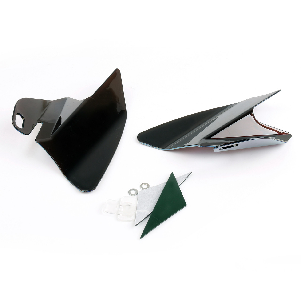 Seat Saddle Shield Heat Deflectors For Harley-Davidson Electra Glide Standard, Iridium (M201-001-Iridium)