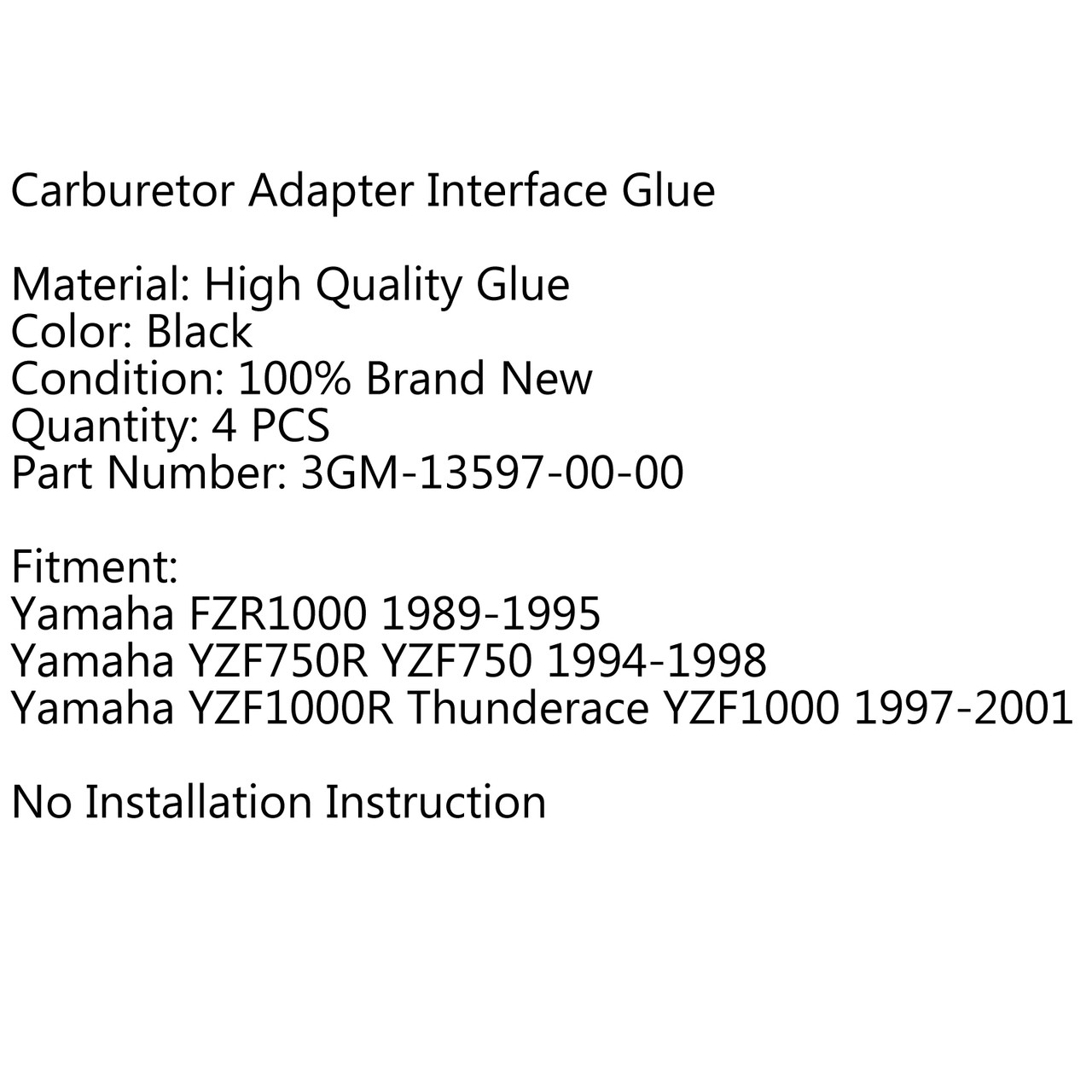 Carburetor Intake Manifold Boots For Honda CBR900RR CBR900 (1993-1999)