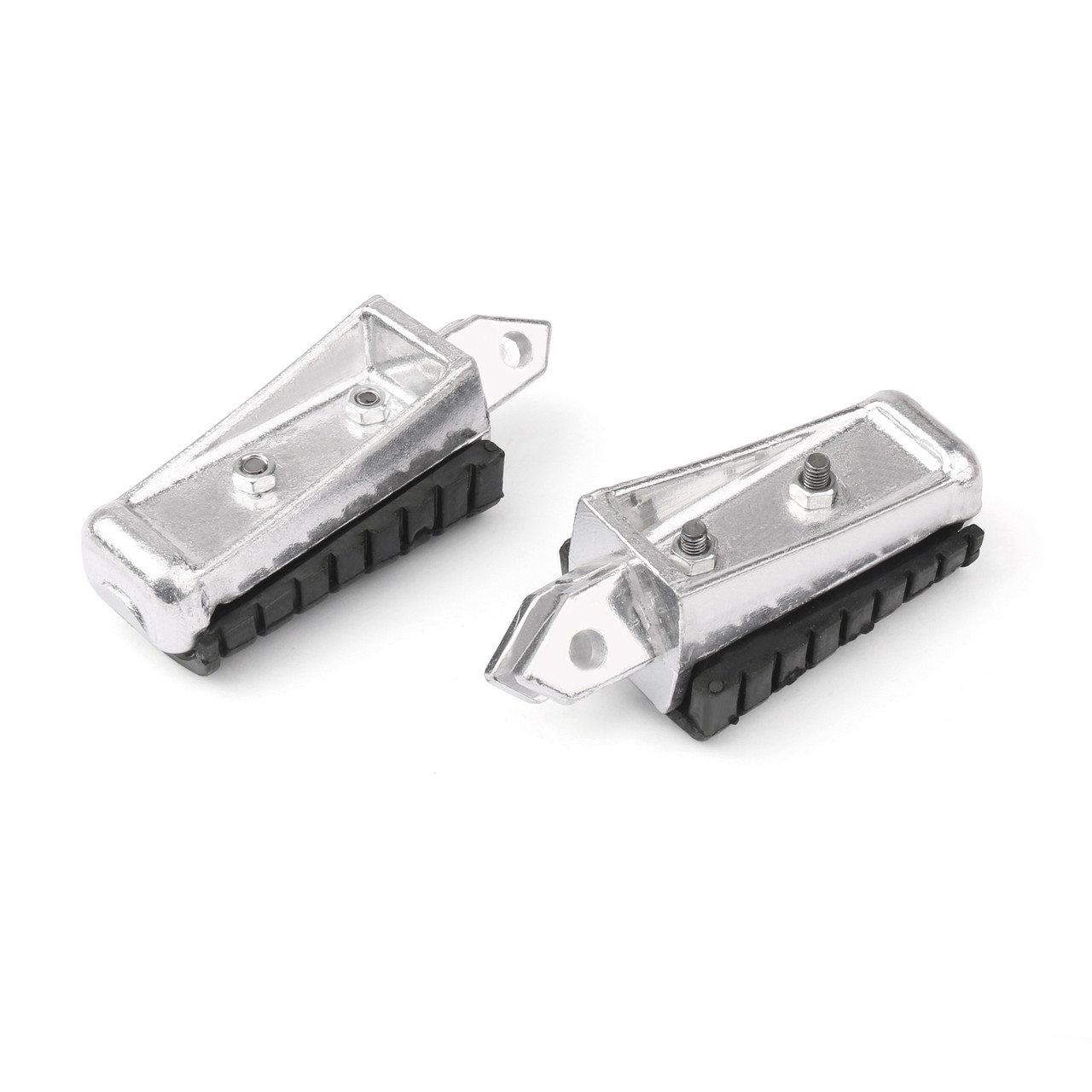 Foot Pegs Front Footrest for Yamaha XV125 VIRAGO 125 (97-00) XV250 VIRAGO 250 (88-13) XV400 VIRAGO 400 (91-94) XV535 VIRAGO 535 (88-01)