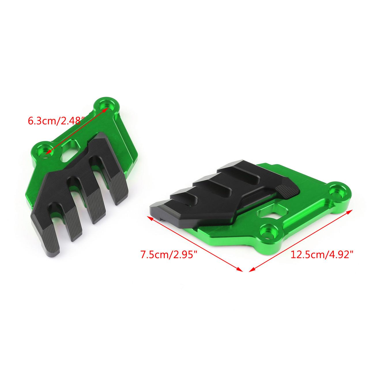 Front Brake Caliper Cover Disc Caliper Protector Cover For Kawasaki Z900 (2017-2019) Green