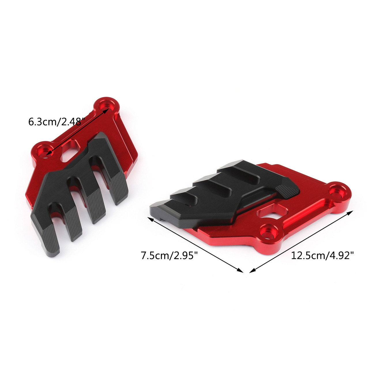 Front Brake Caliper Cover Disc Caliper Protector Cover For Kawasaki Z900 (2017-2019) Red