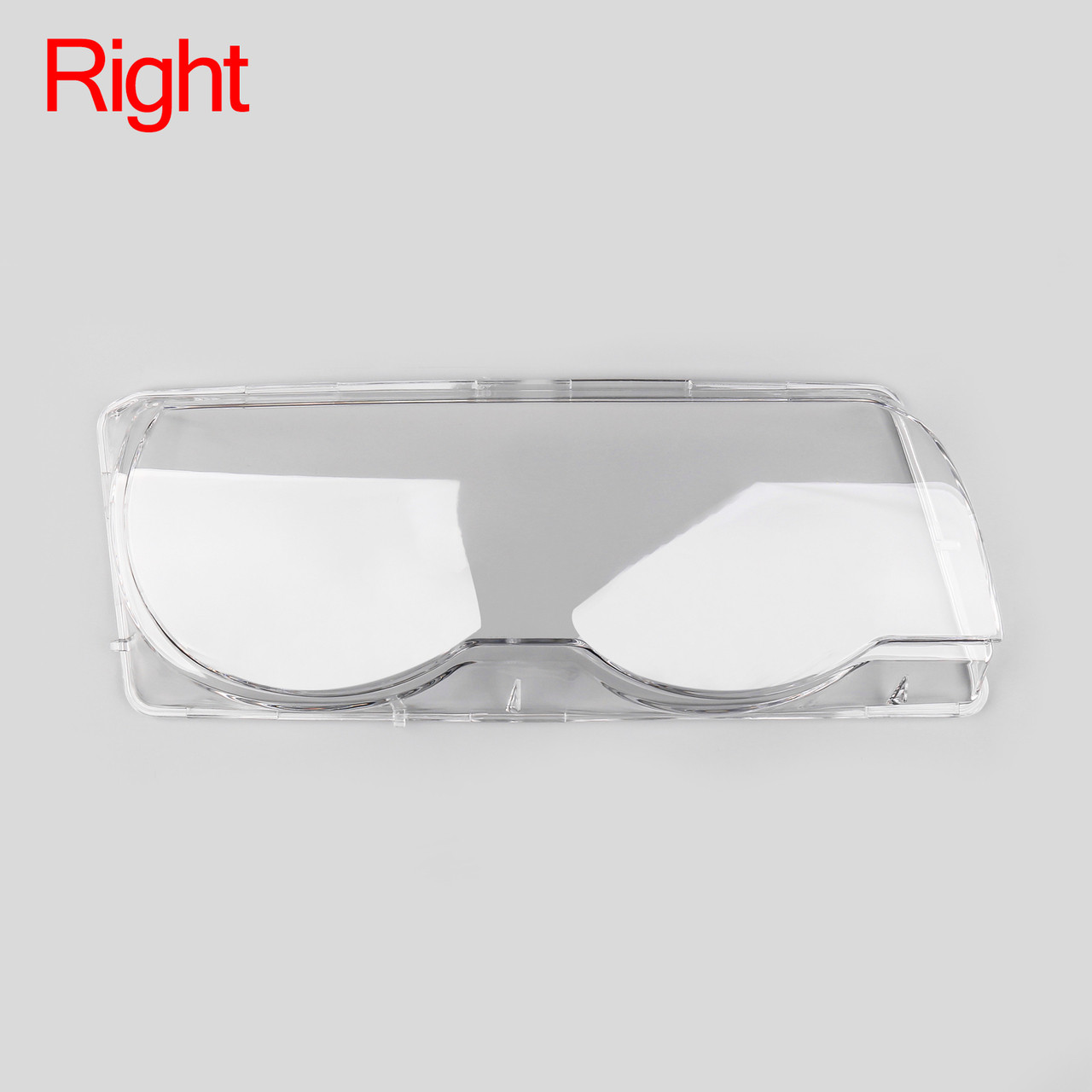 Car Clear Headlight Headlamp Lens Cover Shell Pair For BMW E38 (1999-2001)