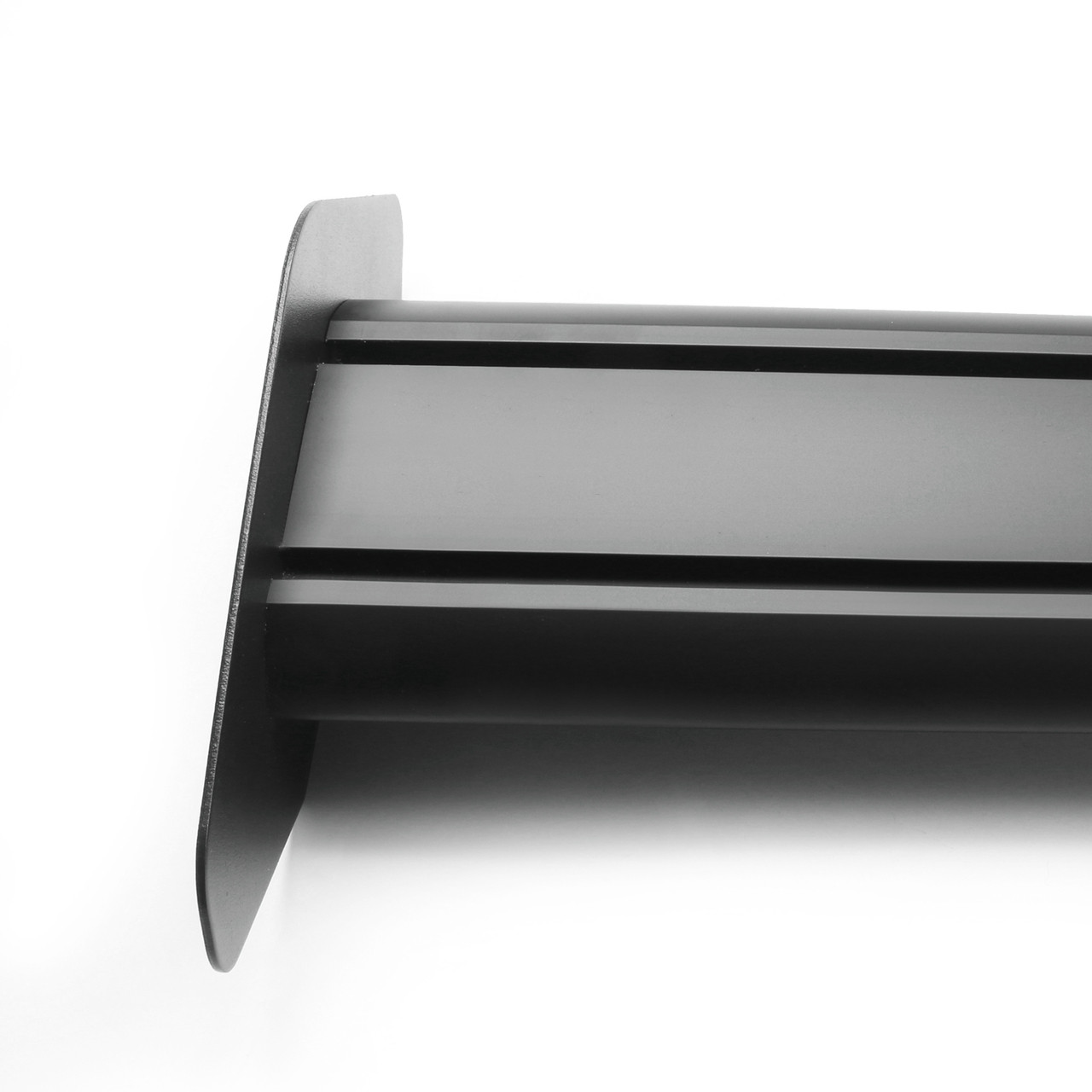 135cm Universal Hatch Adjustable Aluminum GT Rear Trunk Racing Spoiler Wing, Black