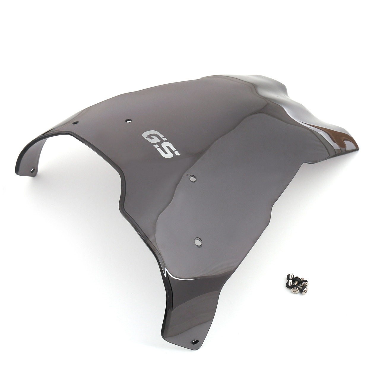 """ABS Windshield WindScreen +4"""" For BMW Adventure F650GS F700GS F800GS (08-16)"""