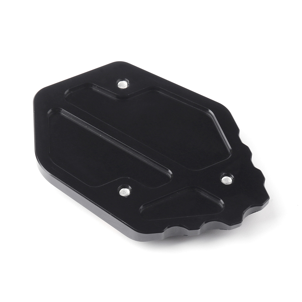Kickstand Sidestand Plate Extension pad For BMW R1200GS LC 13-15 Black