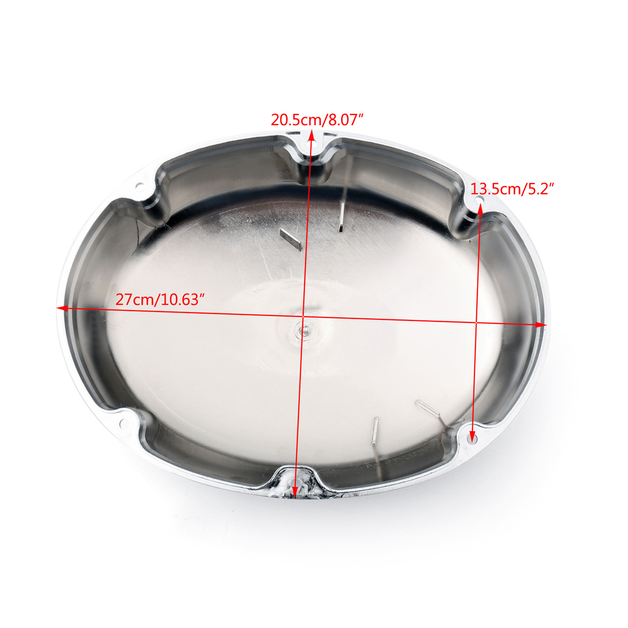 Chrome Air Intake Filter Cleaner Cover For Honda Shadow ACE VT400 VT750 97-03 Chrome