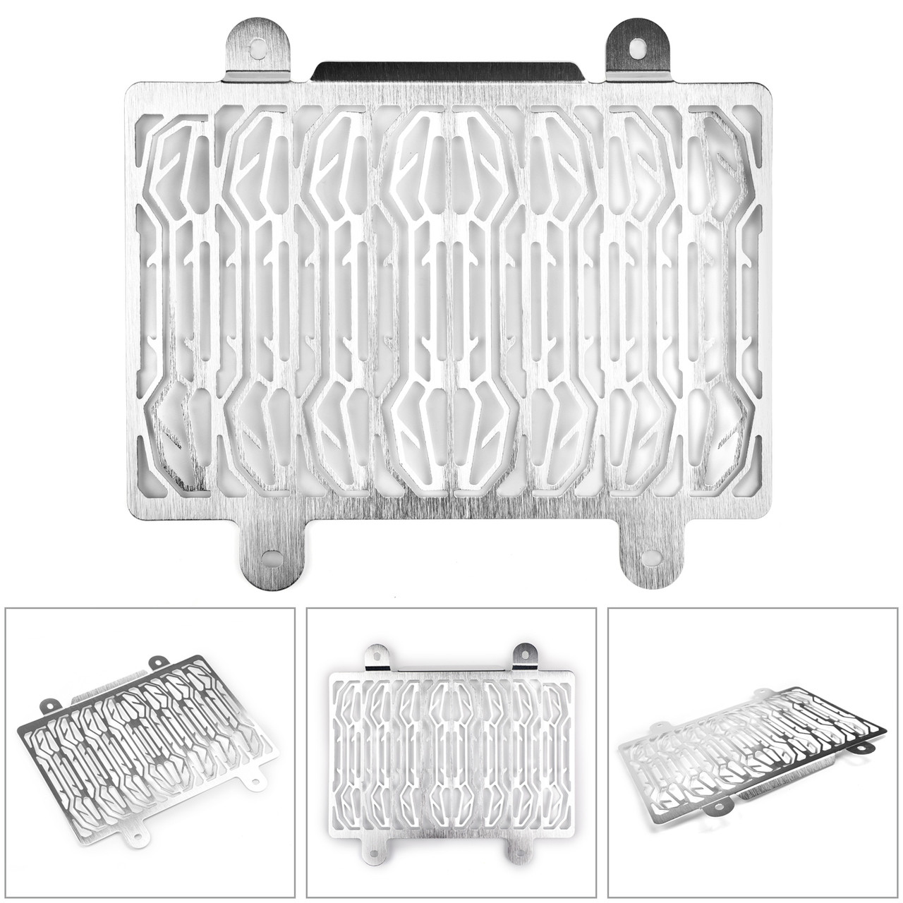 Radiator Grille Cover Guard Shield Protector For BMW G310GS G310R GS/R 17-18 Silver