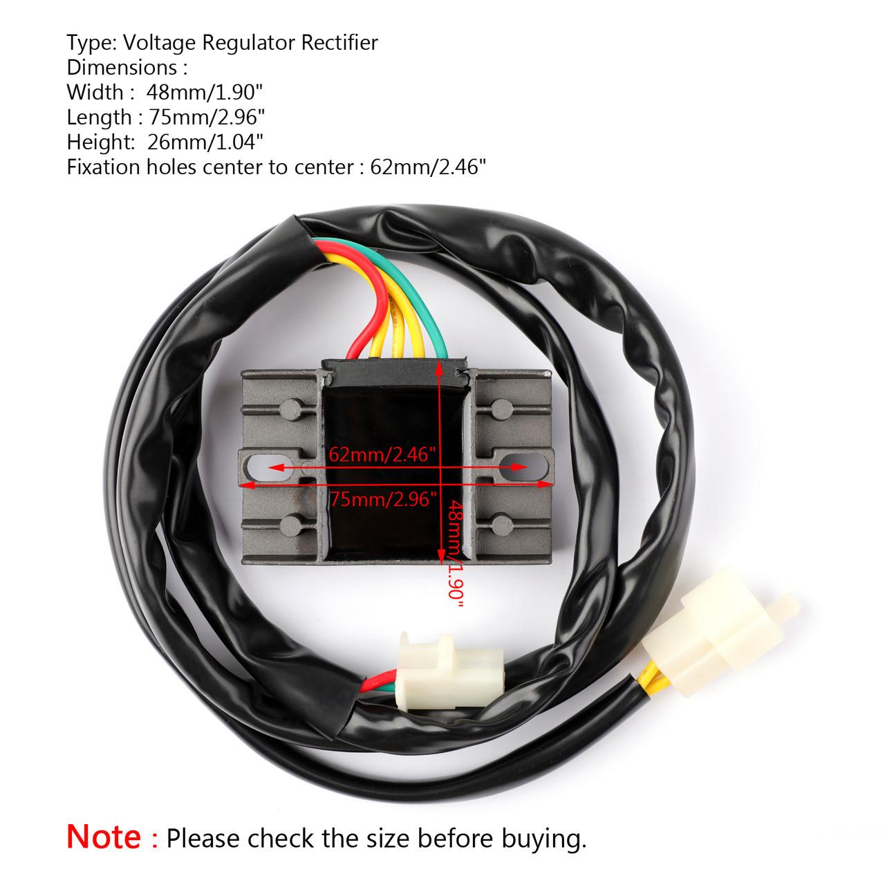 Voltage Regulator Rectifier For Honda CRM250 1989-1999